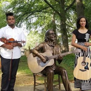 Etta Baker Statue Unveiling