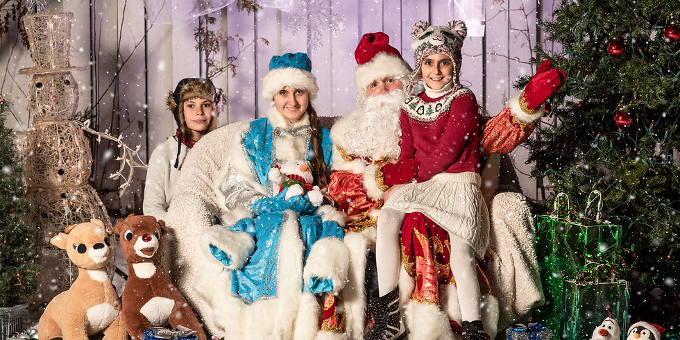 PHOTO WITH DED MOROZ