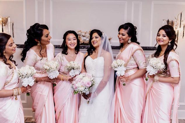 Ann and Bridesmaids