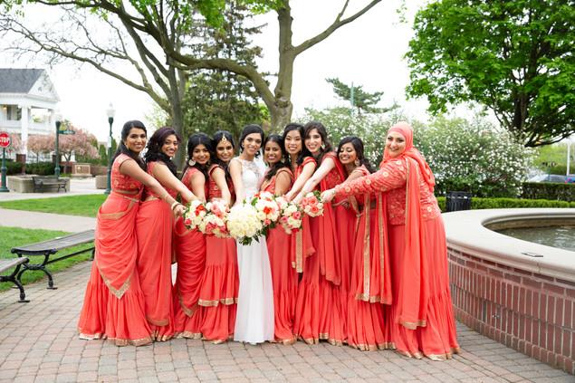 Ambily and Bridesmaids