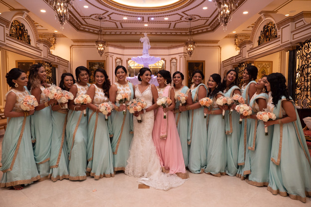 Becky and her bridesmaids.JPG