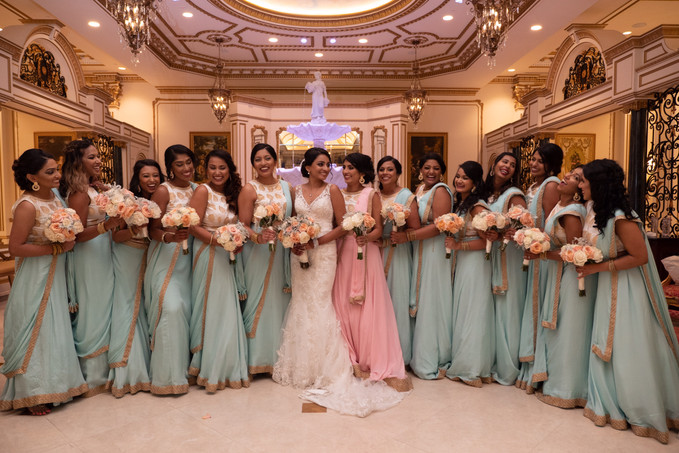 Becky and Her Bridesmaids