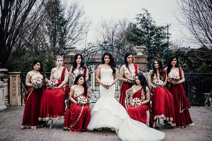 Joyce and Bridesmaids