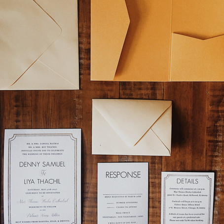 Ammachic Hacks: DIY Wedding Invites
