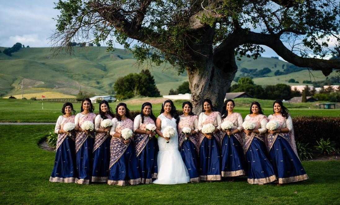 Napa Valley Bridal Party