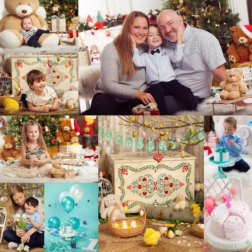 Szezonális dekorációk, Karácsony, Húsvét, Szülinap / SLSFOTO Photography Studio
