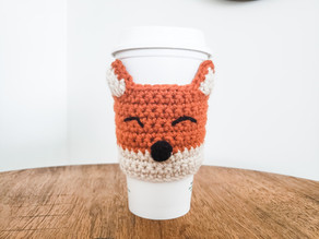 Quick Crochet: Fox Coffee Sleeve (Coffee Cozy)