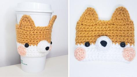 Crochet Corgi Cozy