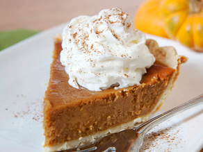 Healthy Pumpkin Pie Recipe (Thanksgiving Food)