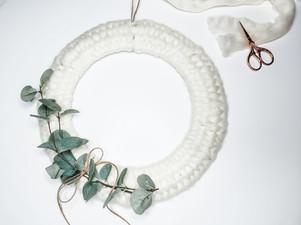 DIY Woven Wreath Tutorial