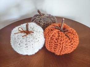 Rustic Pumpkins - Free Crochet Pattern