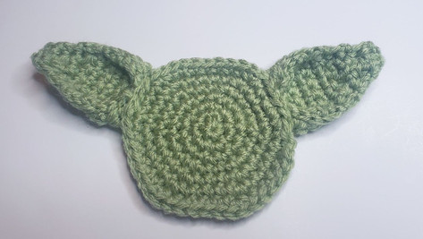 Baby Yoda Coasters - Free Crochet Pattern