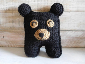 CROCHET: Bear Cuddle Buddy