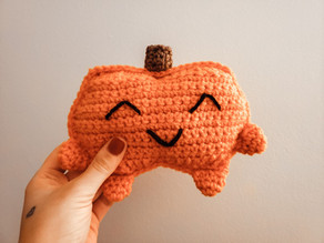 Pumpkin Cuddle Buddy - Free Crochet Pattern