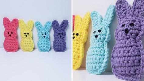 Crochet Peep Bunny