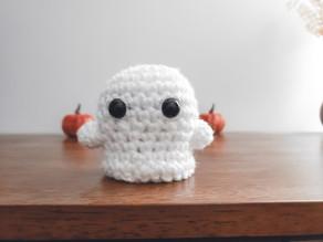 Quick Crochet: Wee Boo Ghost (Halloween Amigurumi)