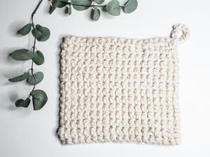 Thermal Stitch Hot Pad - Free Crochet Pattern