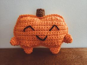 How to Crochet a Pumpkin Cuddle Buddy | Halloween Crochet