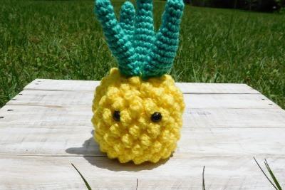 Pineapple Amigurumi - Free Crochet Pattern