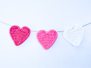 Crochet Heart Garland - Free Pattern