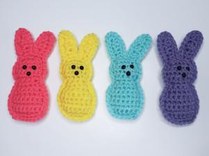 Peep Bunny - Free Crochet Pattern