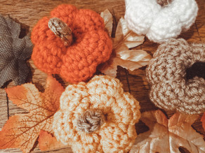 How to Crochet Mini Pumpkins | DIY Fall Decor | Quick Crochet Pattern