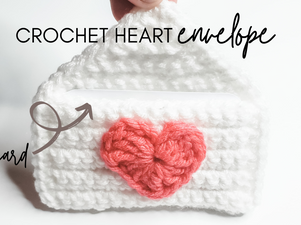 Heart Envelopes - Valentine Crochet Pattern