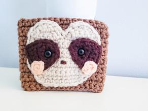 Sloth Coffee Cozy - Free Crochet Pattern