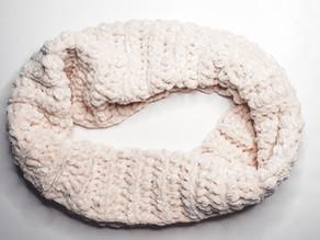 Easy Velvet Scarf - Free Crochet Pattern
