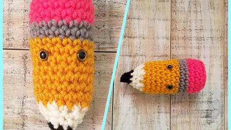 Pencil Amigurumi - Free Crochet Pattern