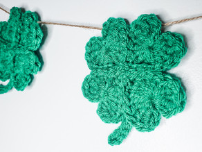 Shamrock Garland - Free Crochet Pattern
