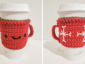 Hot Cocoa Mug Cozy - Free Crochet Pattern