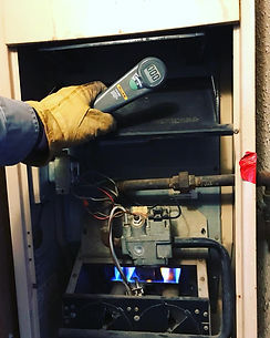 furnace checked during the las cruces home inspection in el paso tx