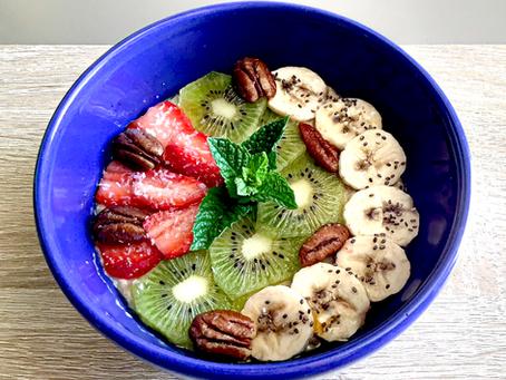 Porridge crémeux aux fruits de saison