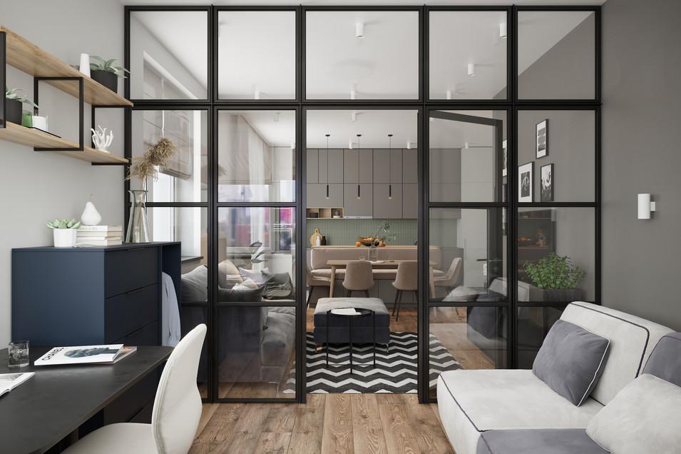 Проект квартиры 80 кв. м