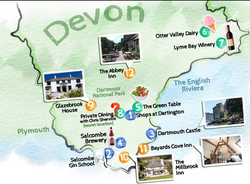 Head west to South Devon