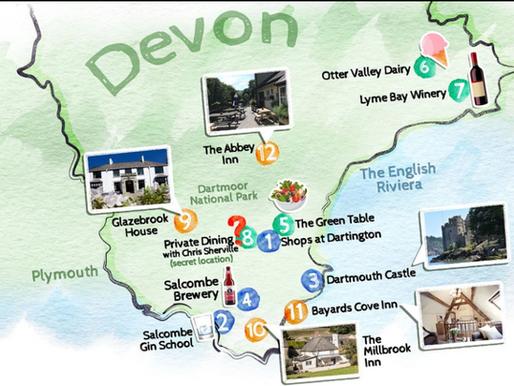 Head west to South Devon