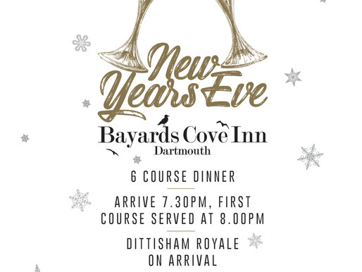 New Year's Eve at Bayards Cove Inn