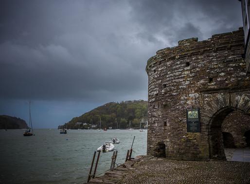 A favourite autumn walk from Dartmouth Castle
