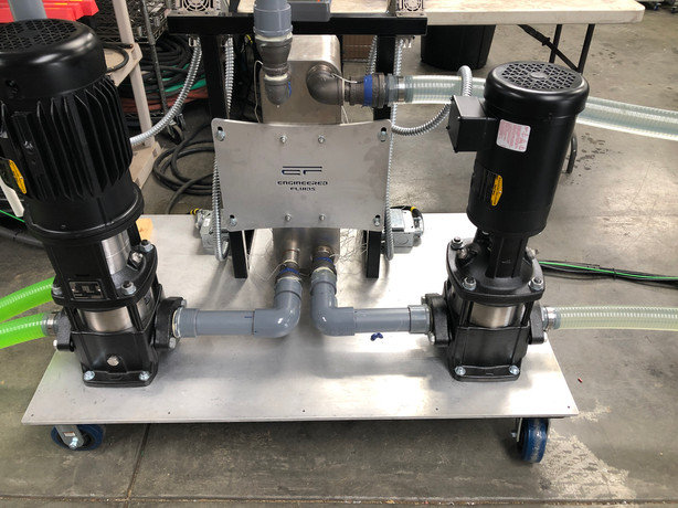 Engineered Fluids - Water and Coolant Pumps with Heat Exchanger