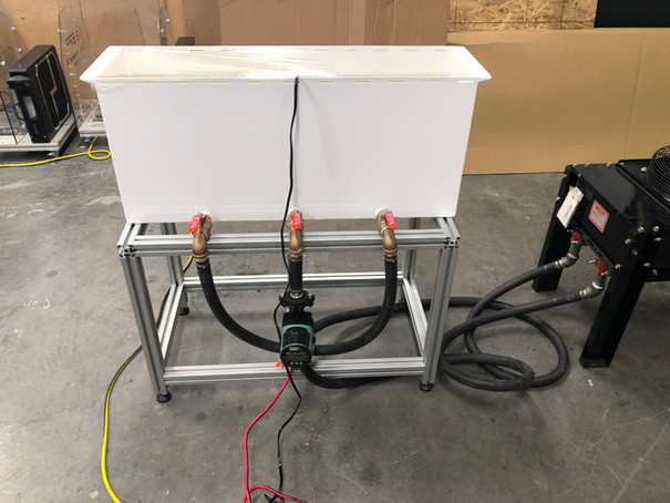 8 Miner SLIC Tank in Test - Side