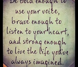 Be You Bravely!
