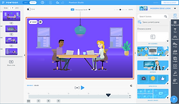 Use Powtoon to create a video with directions for students using one of the templates