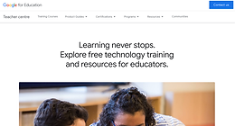 Explore online training centers to learn more about the technology tools that are used in your school.