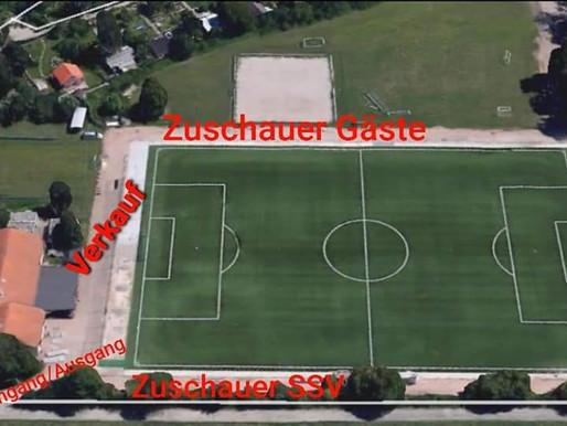 Wichtig Neues Hygienekonzept SSV Abt. Fußball
