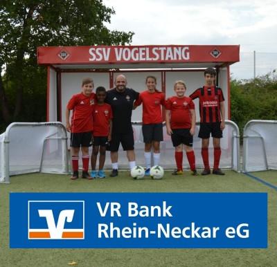 Die Jugend dankt der Volksbank Rhein Neckar