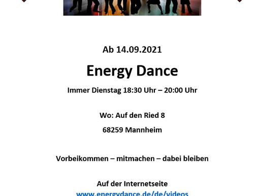 Es geht wieder los!!! Neuer Kurs Energy Dance