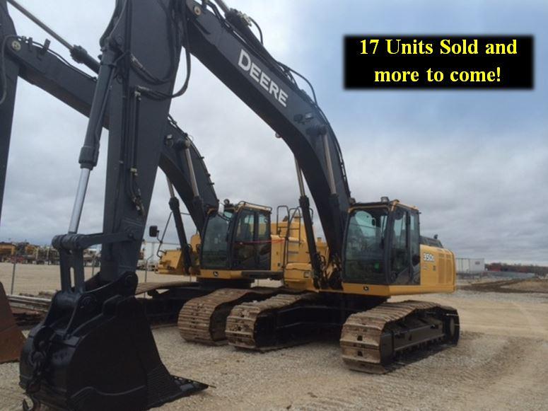 JD 350 Excavators - 20 Units SOLD!