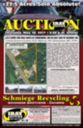 Schmiege Recycling Auction at IRAY