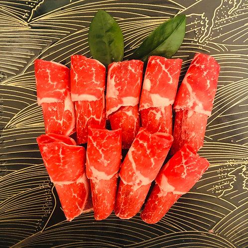 American Wagyu Short Rib Slice 美國和牛短肋片/1 LB